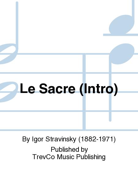 Le Sacre (Intro)