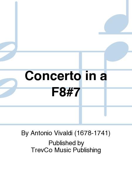 Concerto in a F8#7