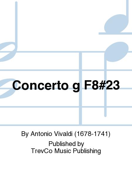Concerto g F8#23