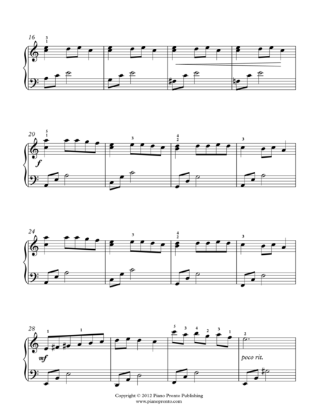 Carol of the Bells (Intermediates)