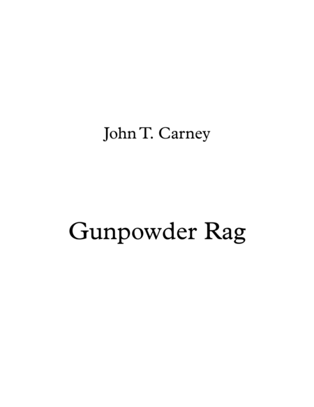 Gunpowder Rag
