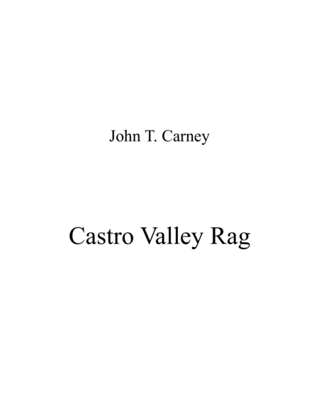 Castro Valley Rag