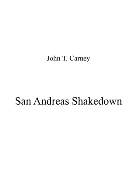 San Andreas Shakedown