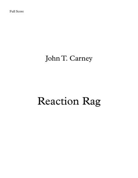 Reaction Rag