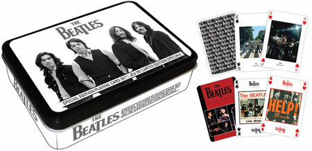 The Beatles Playing Card Gift Tin