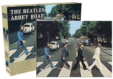The Beatles - Abbey Road - 1000-Piece Jigsaw Puzzle