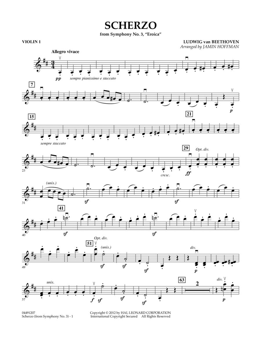 Scherzo from Symphony No. 3 (Eroica) - Violin 1