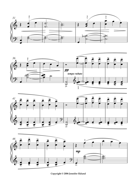 Clair d' Lune (Simplified/Int. Version)