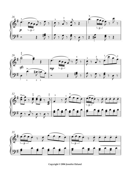 Eine Kleine Nachtmusik (Mvmt. 1/Simplified/Int Level)