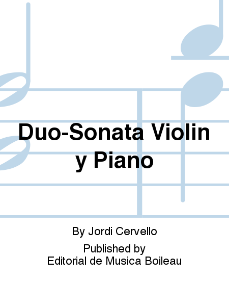 Duo-Sonata Violin y Piano