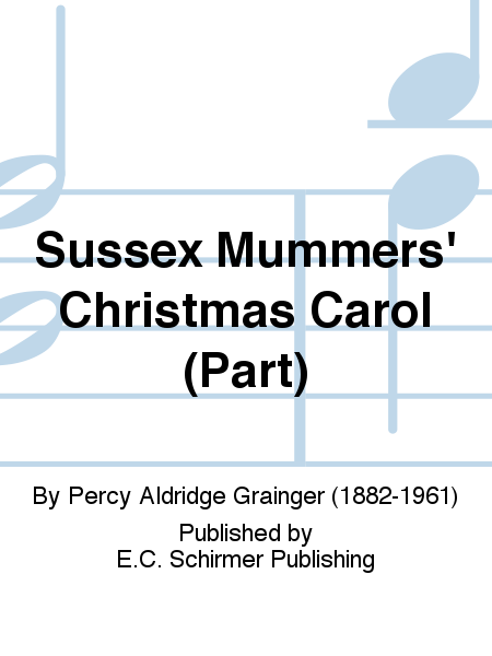 Sussex Mummers' Christmas Carol (C Piccolo Replacement Part)