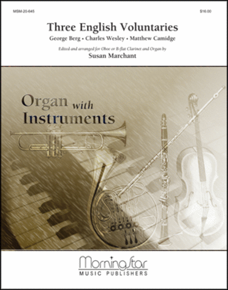 Three English Voluntaries Arranged for Oboe and Organ