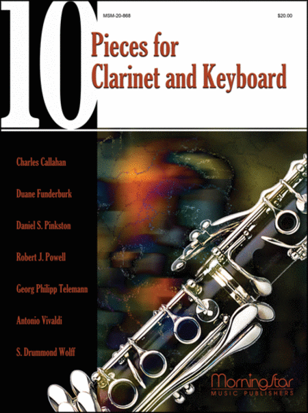 Ten Pieces for Clarinet and Keyboard