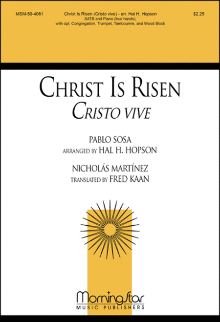 Christ Is Risen (Cristo vive)