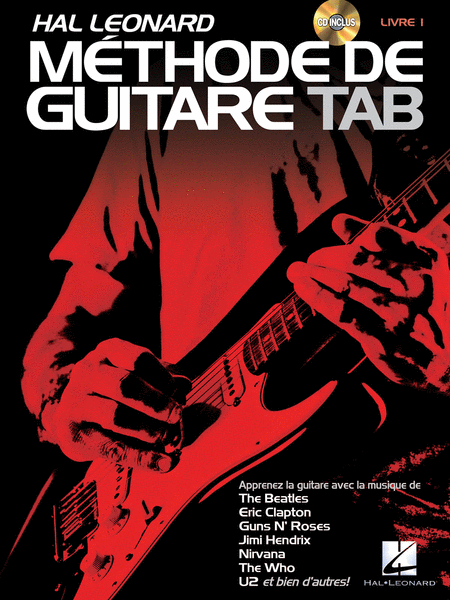 Hal Leonard Methode de Guitare Tab