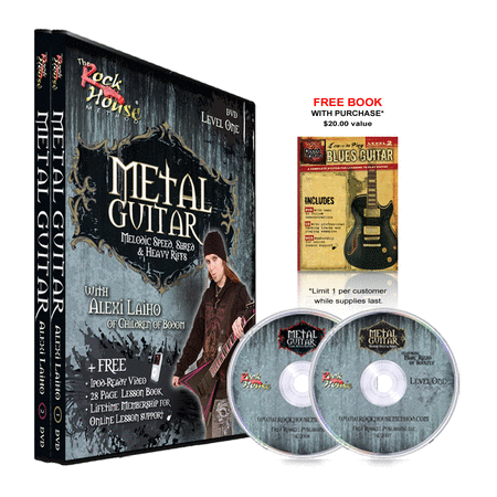 Alexi Laiho of Children of Bodom DVD Collection