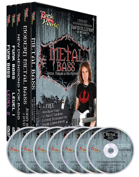 Rock House Bass DVD Collection