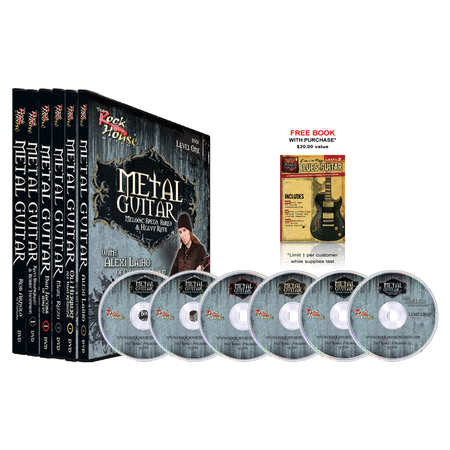 Rock House Metal Guitar DVD Collection