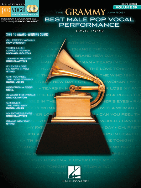 The Grammy Awards Best Male Pop Vocal Performance 1990-1999