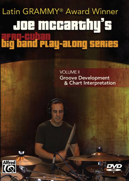 Joe McCarthy's Afro-Cuban Big Band Play-Along, Volume 2