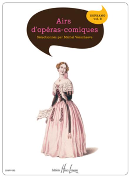 Airs d'operas comiques Vol. B