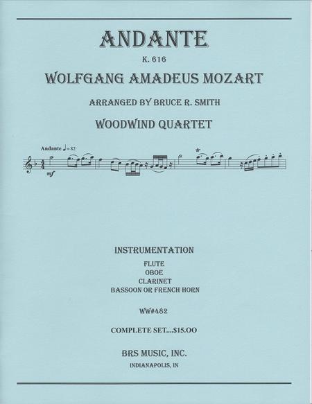 Andante, K. 616 - Woodwind Quintet