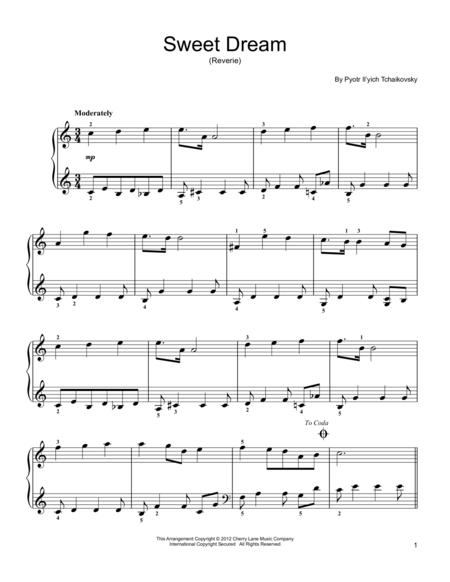 Sweet Dream (Douce Reverie), Op. 39, No. 21