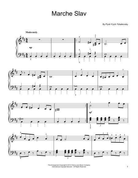 Marche Slav, Op. 31