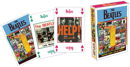 The Beatles 1 Playing Cards