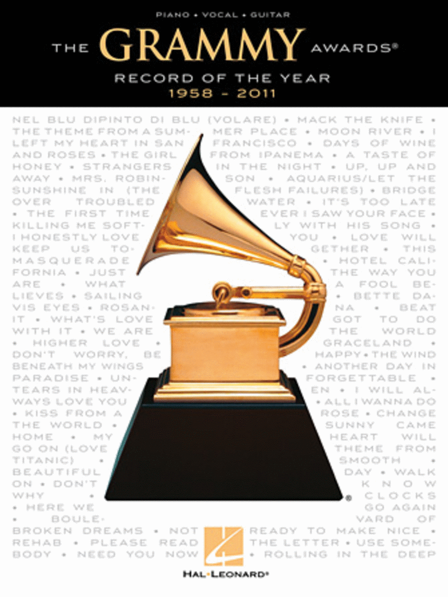 The GRAMMY Awards Record of the Year - 1958-2011