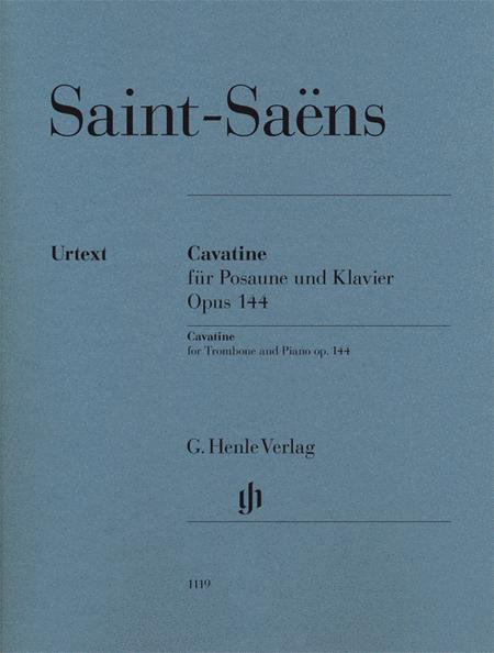 Camille Saint-Saens - Cavatine, Op. 144