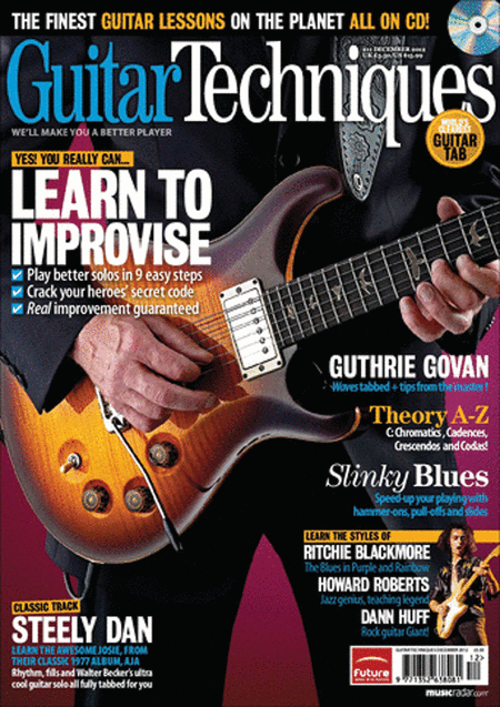 Guitar Techniques Magazine - December 2012 Issue