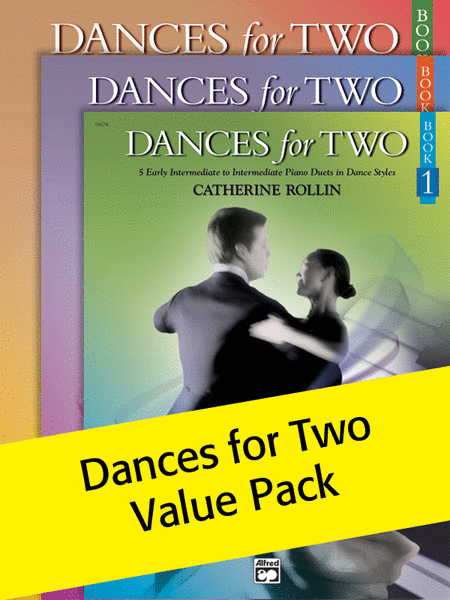 Dances for Two, Book 1-3 (Value Pack)