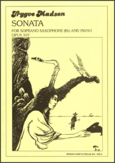 Sonata for Soprano Saxophone and Piano Op. 107