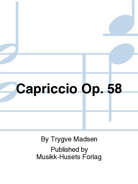 Capriccio Op. 58