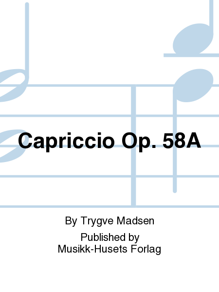 Capriccio Op. 58A