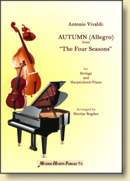 Autumn (Allegro) Fra De Fire Arstider Sheet Music By Antonio Vivaldi - Sheet Music Plus