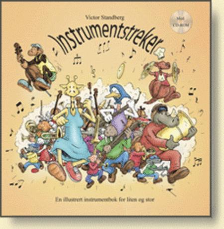 Instrumentstreker m/CD-ROM