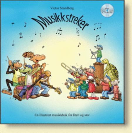 Musikkstreker m/CD-ROM