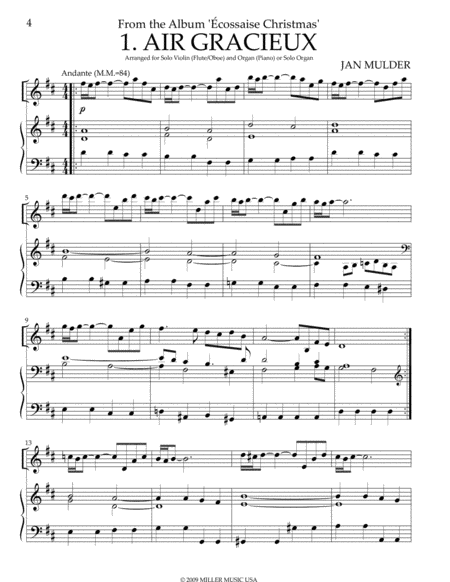 Air Gracieux - Flute & Organ