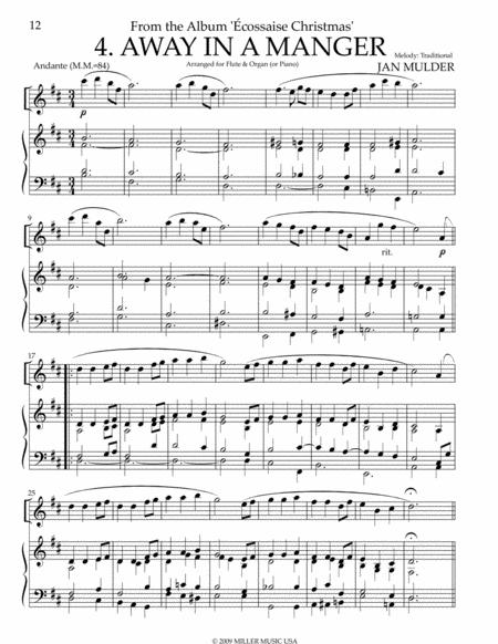 Away In A Manger - Flute & Organ