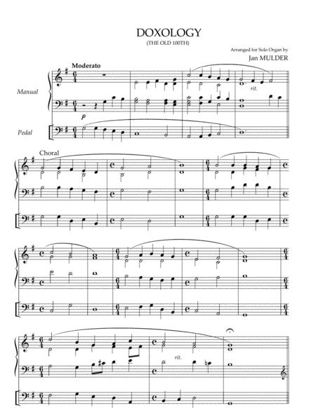 Doxology - Solo Organ