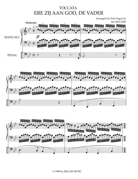 Ere Zij Aan God, De Vader - Orgel Solo