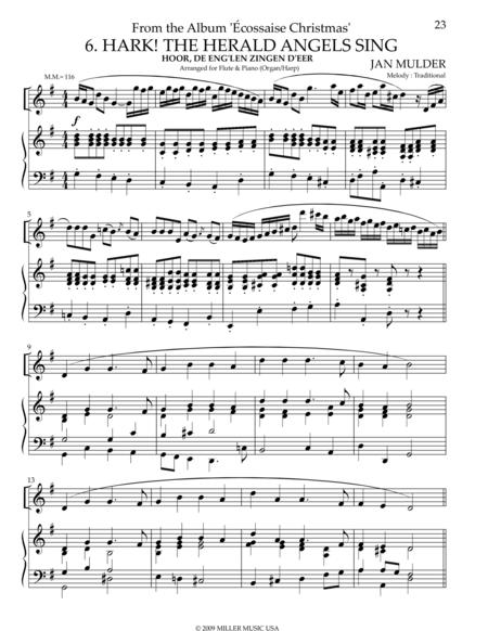 Hark the Herald Angels Sing - Harp & Flute