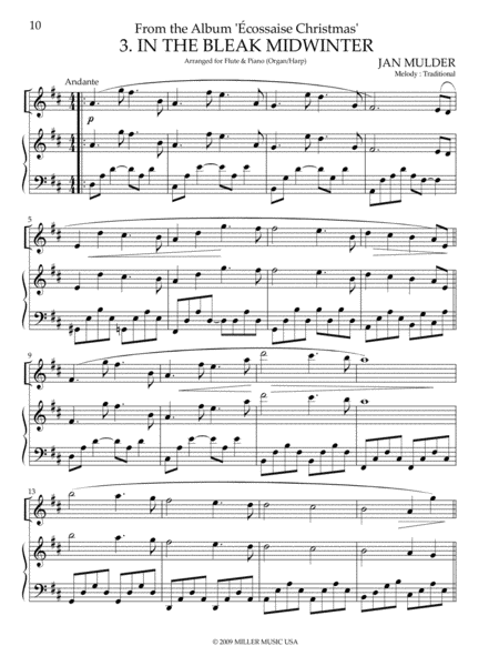 In the Bleak Midwinter - Harp & Piano