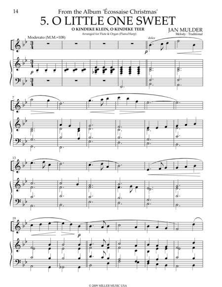 O Little One Sweet - Flute & Organ