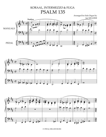 Psalm 135 - Orgel Solo