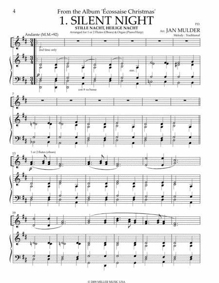 Stille Nacht - Flute & Piano