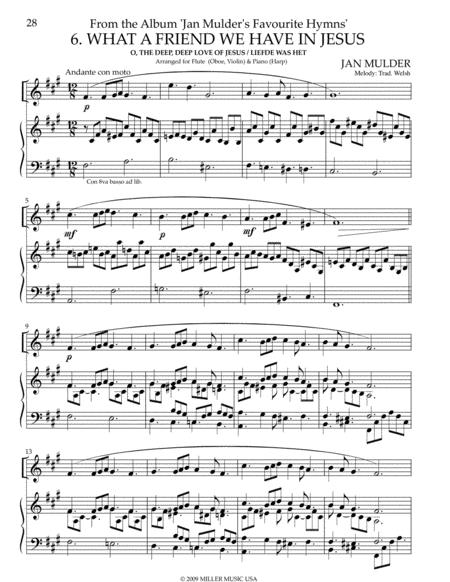 What A Friend - Violin & Piano