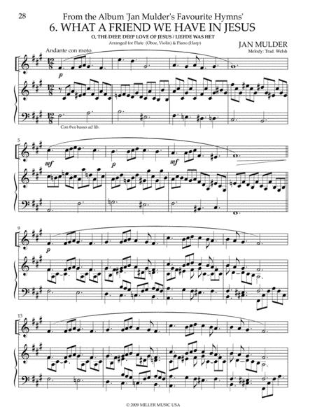 O the Deep Deep Love of Jesus - Harp & Piano